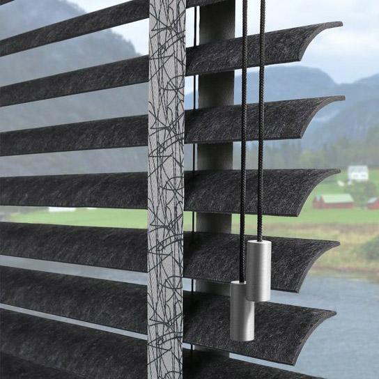 KADECO - Jalousien aus Design Filz - Detail