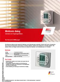 Download Produktinfo Minitronic dialog