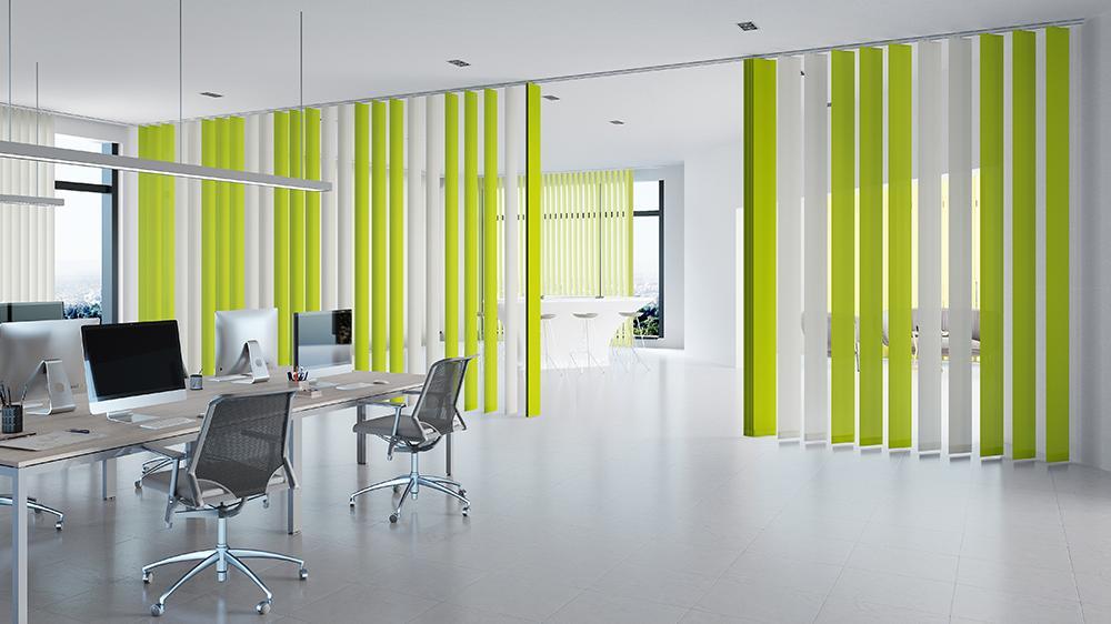 MHZ - Vertikal Jalousien für Büros und Objekte