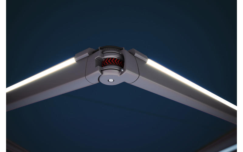 LED-Line in den Gelenkarmen