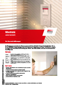 Download Produktinfo Wisotronic