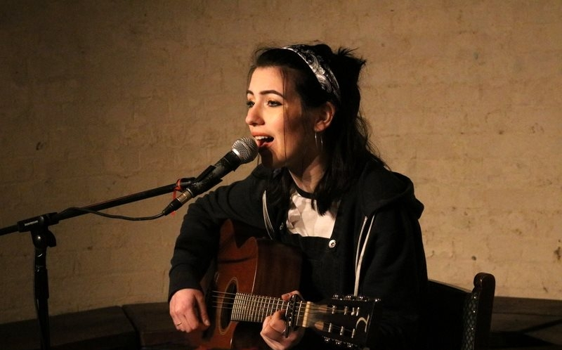 Saskia Steene Faulkner @ The Brunswick, Hove - 09/02/17. Credit: Andy Voakes.