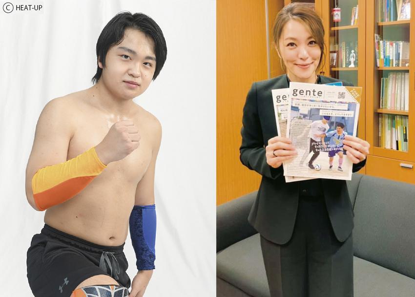 【New!】vol.12 取材速報:難聴のプロレスラー今井礼夢選手と母、今井絵理子さん