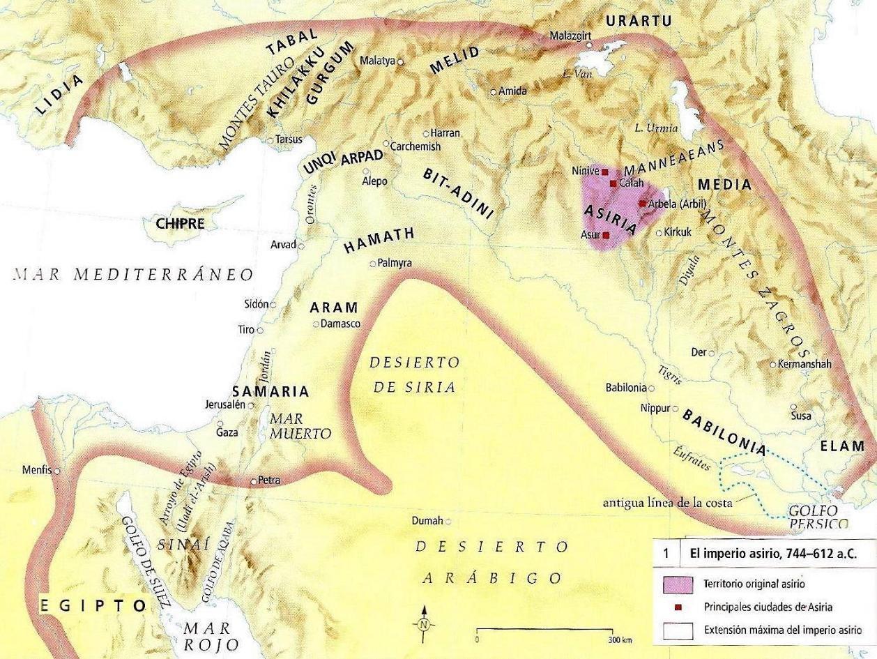 En tiempos de los Asirios.