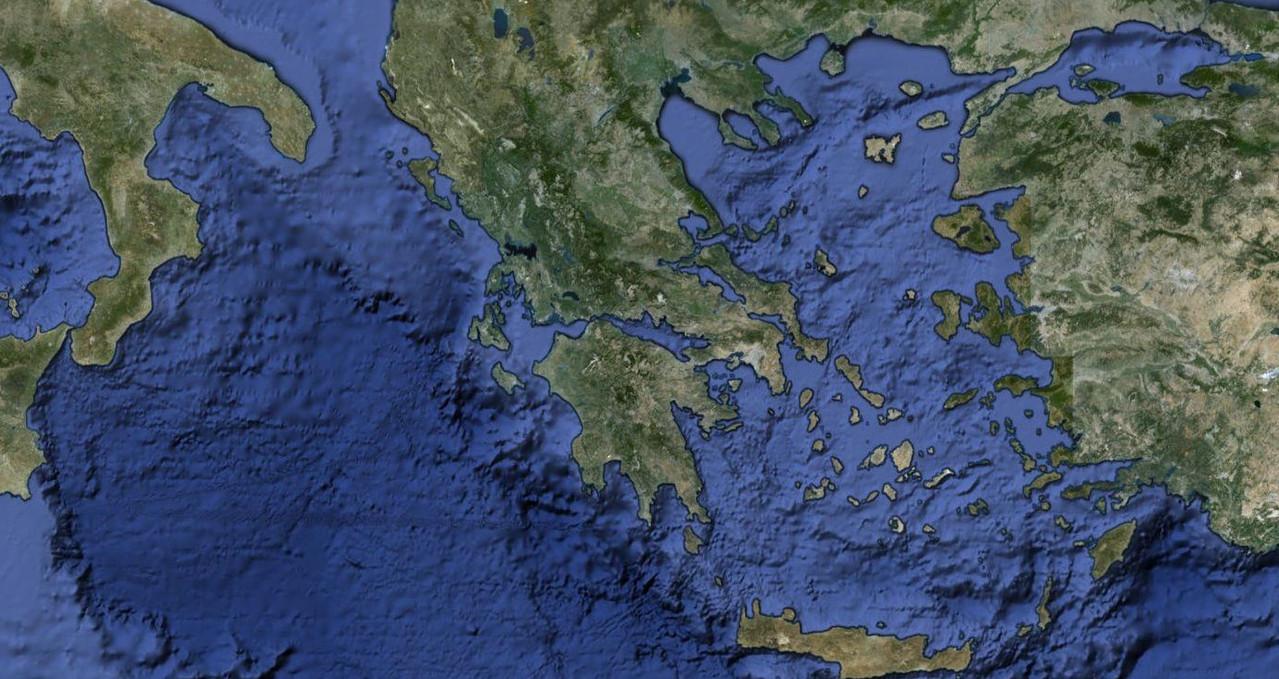 El mundo griego desde el satélite