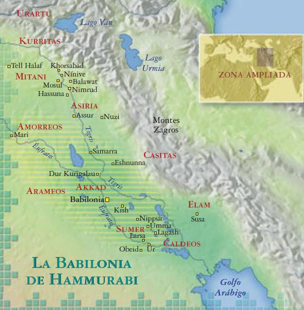 En tiempos de Hammurabi.