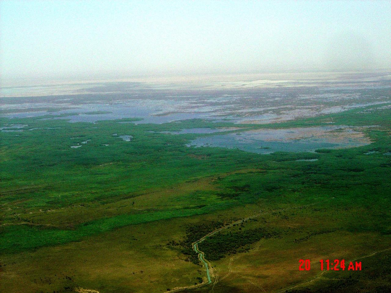 Caldea o Baja Mesopotamia. Una zona pantanosa.