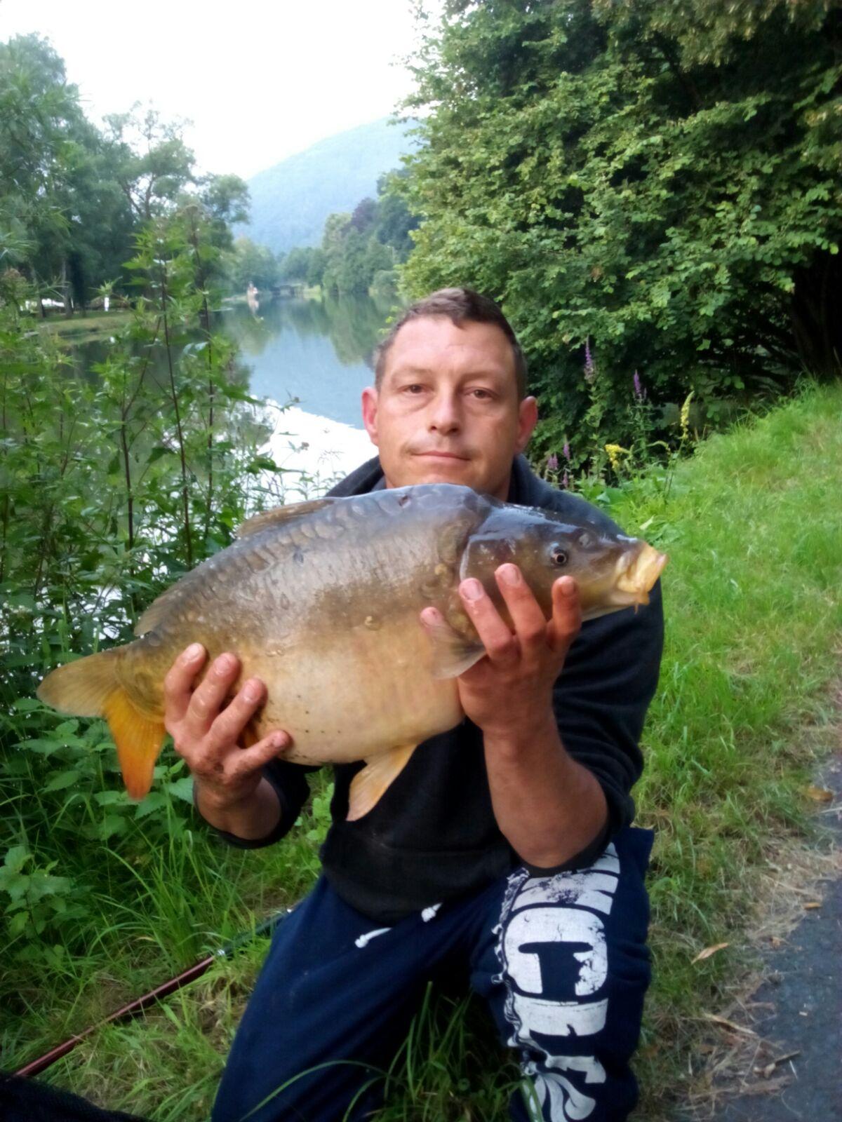 Spiegelkarpfen 10 kg / Köder: Frolic am Grund (17.07.2016)