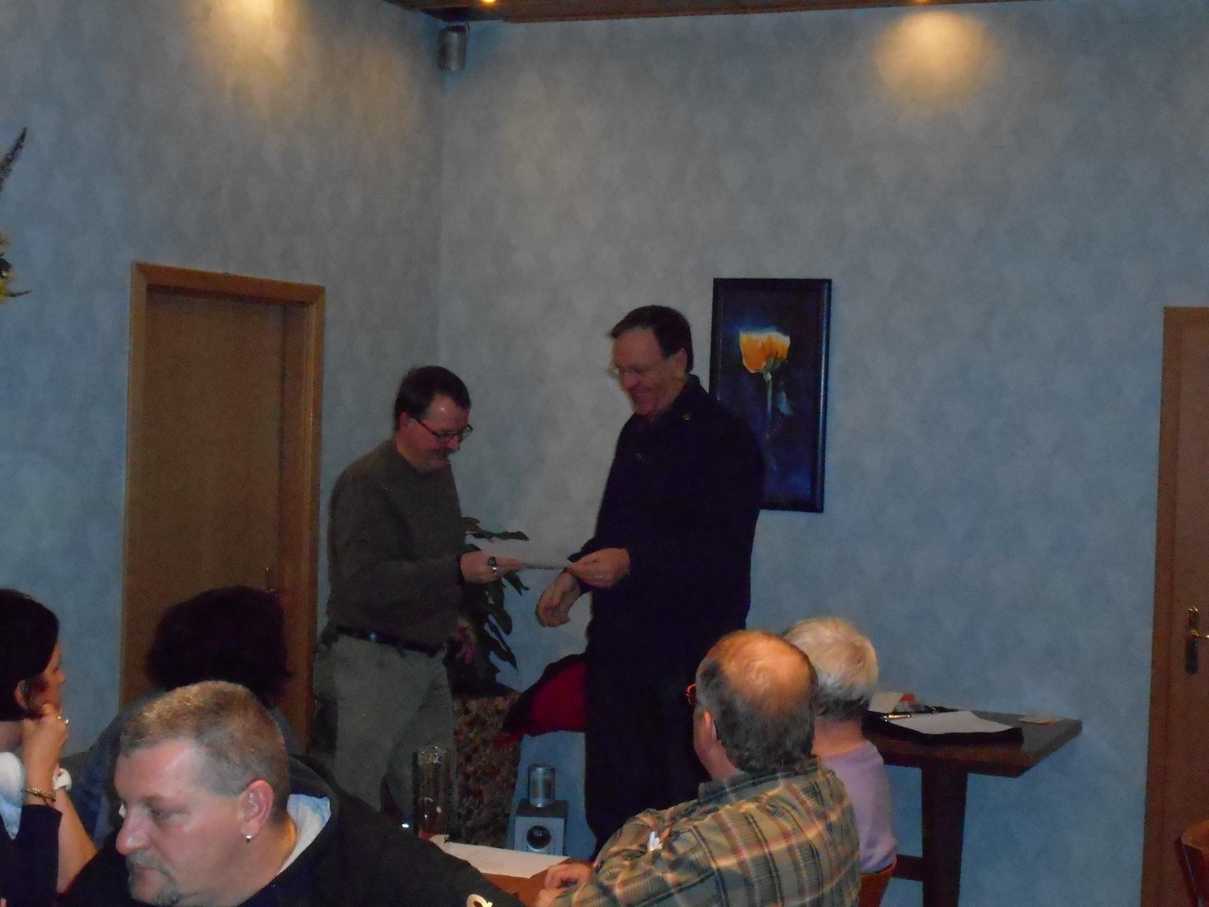 Auszeichnung für Sven Buchner