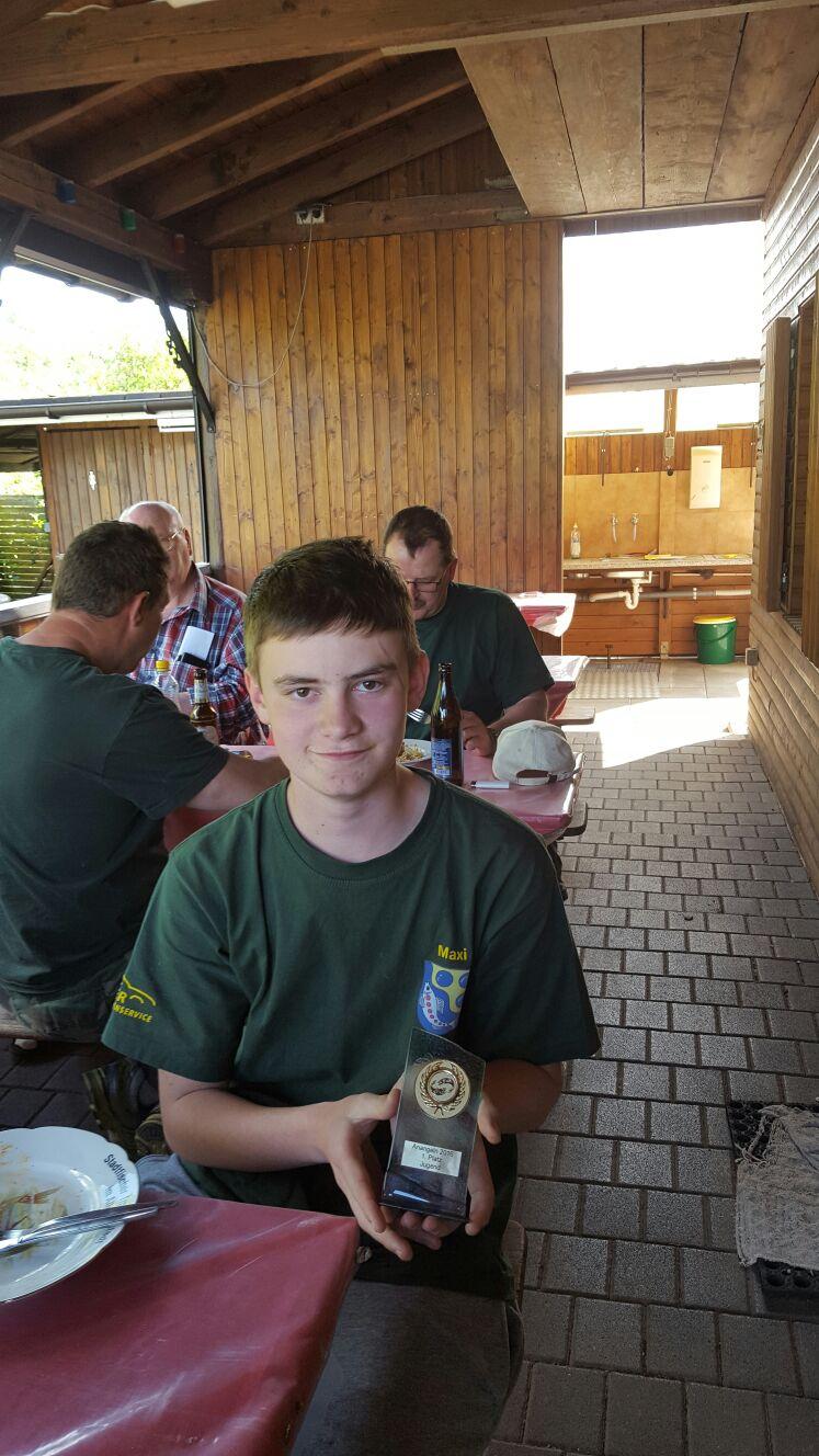 Maxi Groß holte sich den 1.Platz bei der Jugend