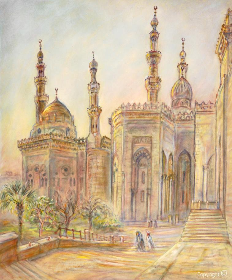 Moschee in Cairo, 1984