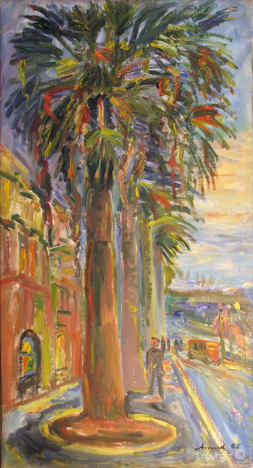 Palmen in Dalmatien, 1965