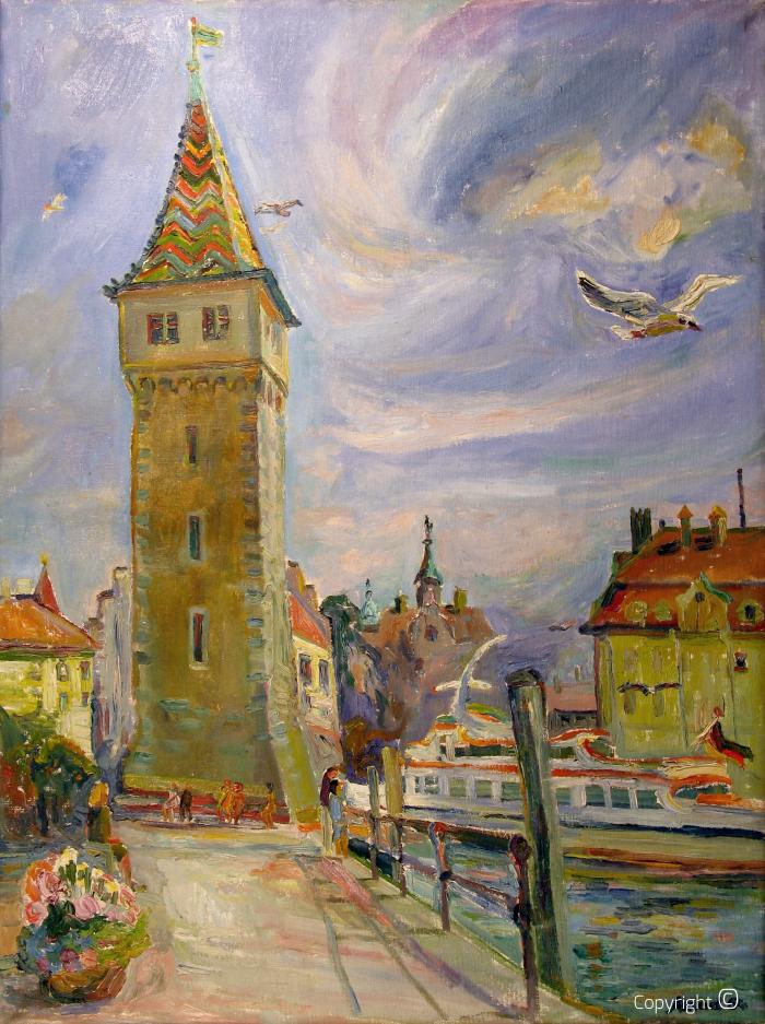 Turm in Lindau, 1964