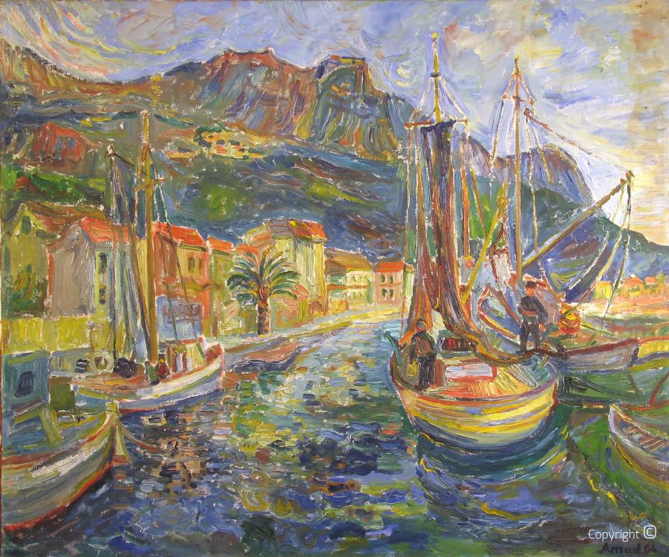 Hafen in Dalmatien, 1964