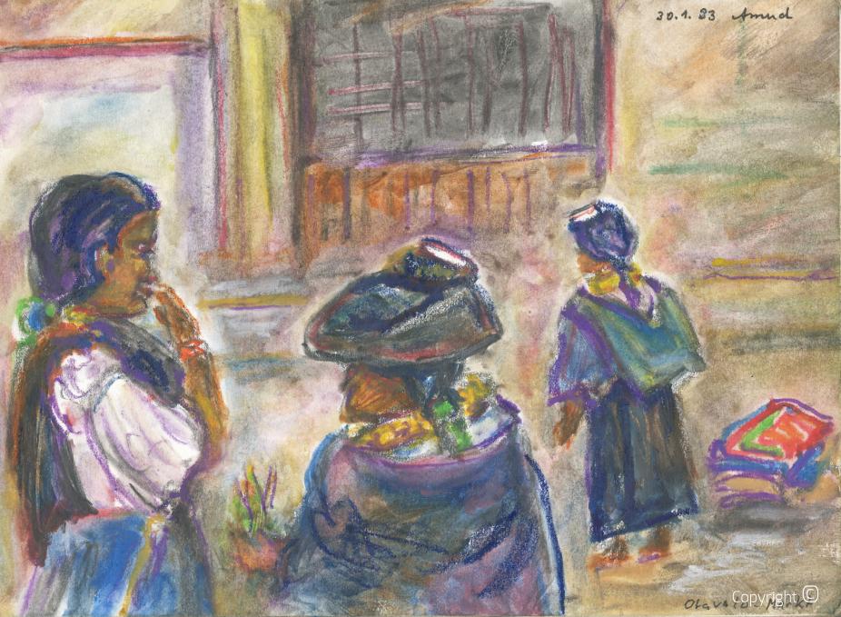 Otavalo Markt, 1993