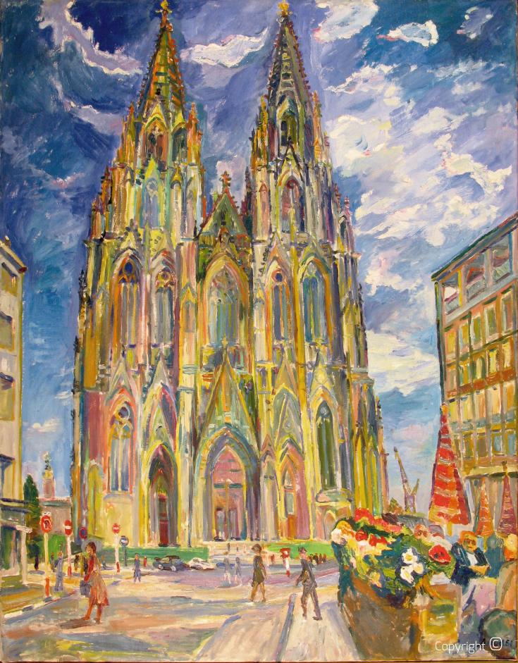Kölner Dom, 1961