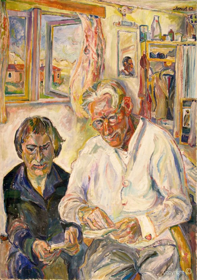 Portrait des Vaters des Künstlers, 1962