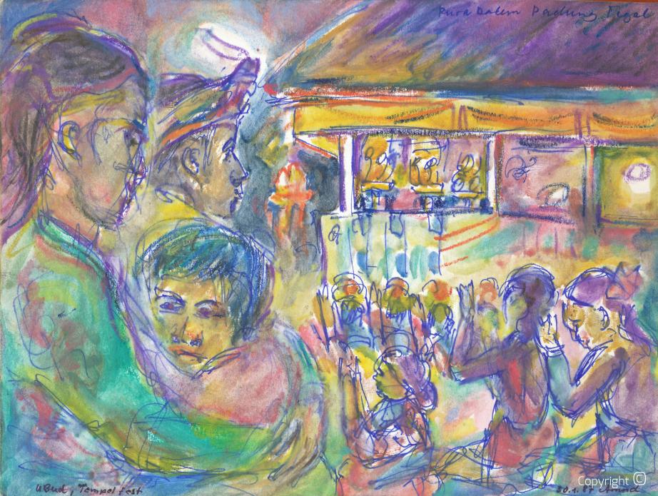 Tempelfest, 1987
