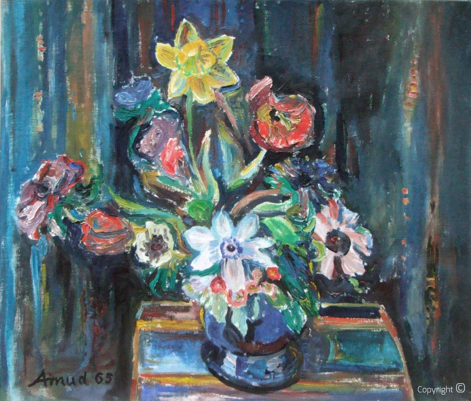 Blumen in Vase 1965