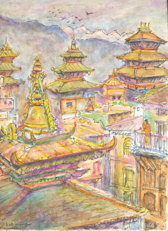 Kathmandu, 1990