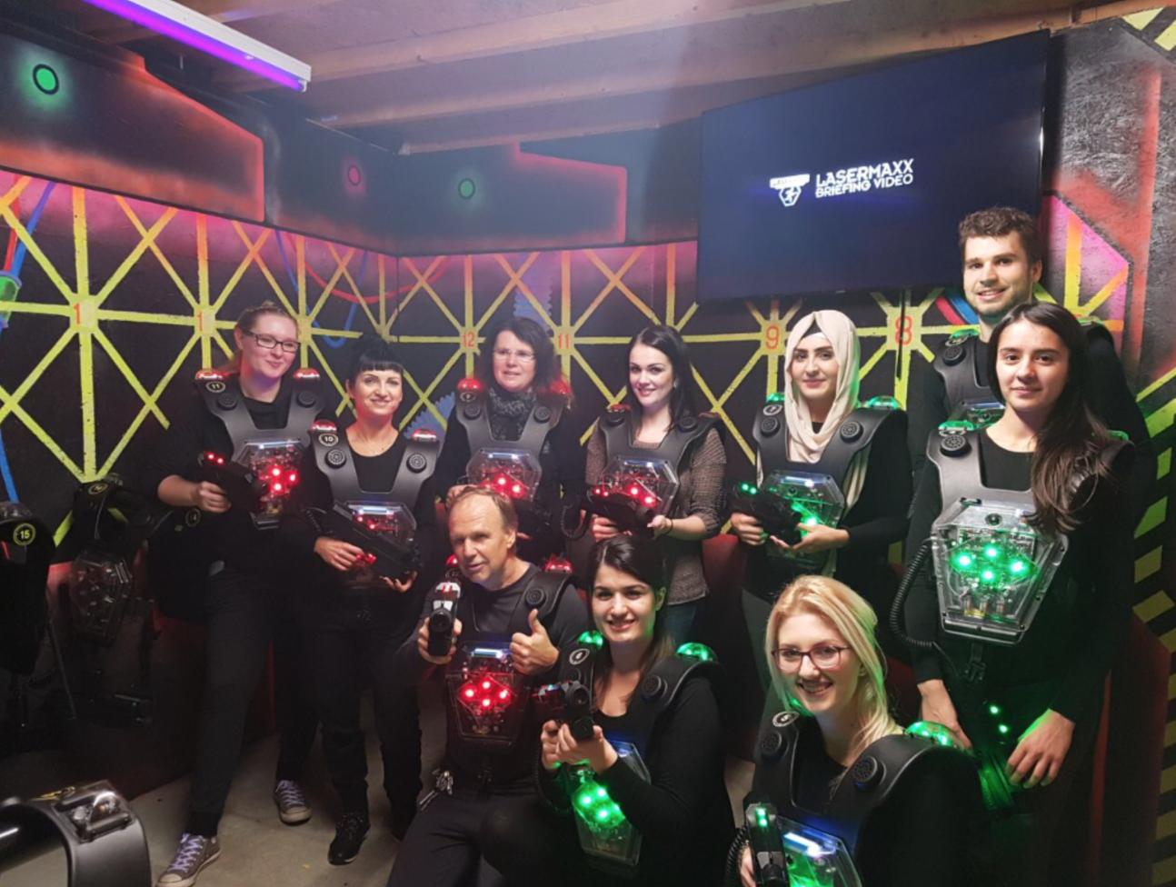 Lasertag in Künzell