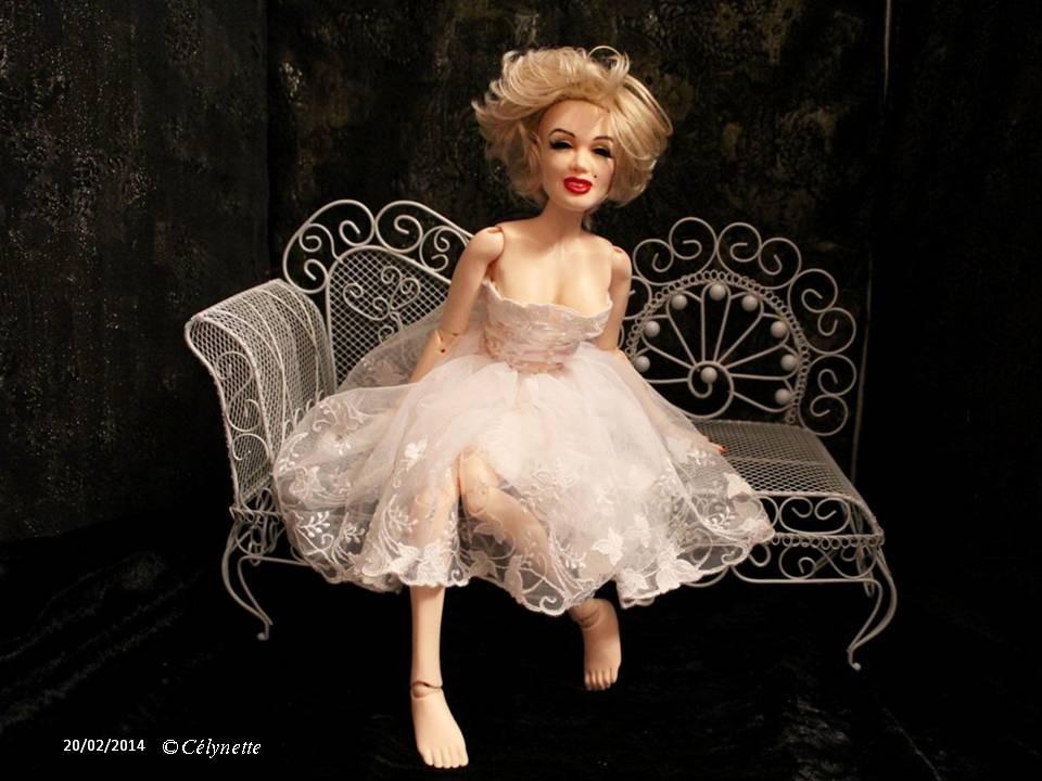 Reine Blanche (collection 2014) pour MSD 40-45 cm