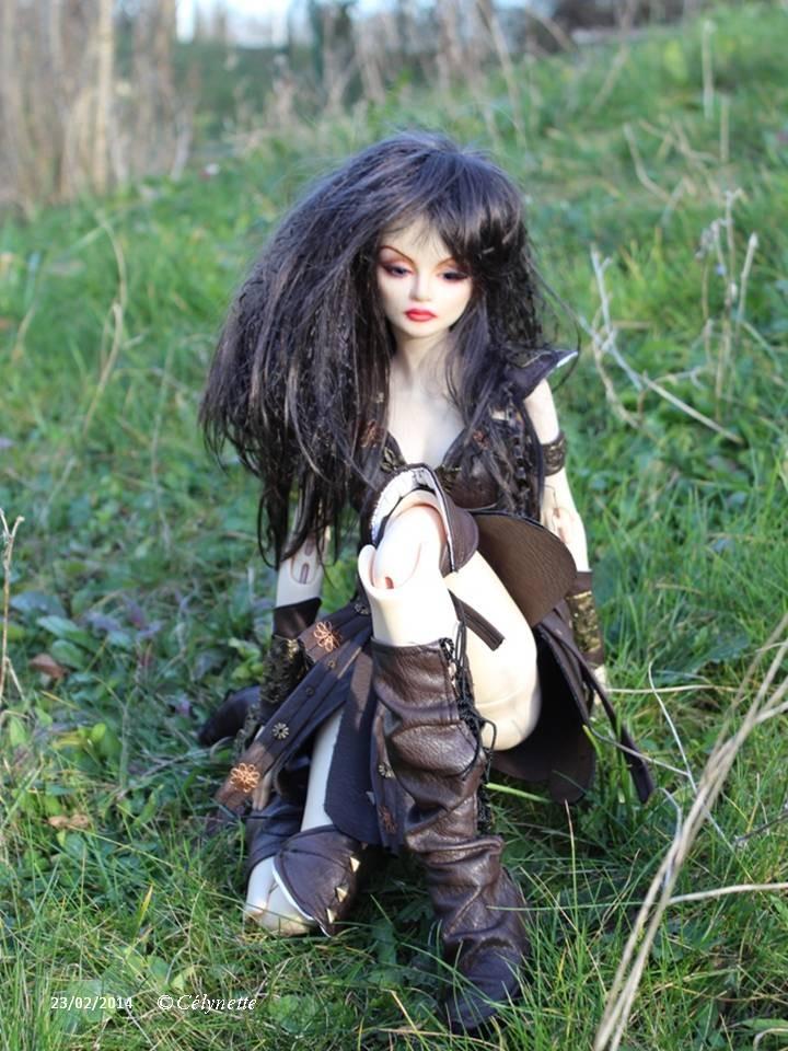 Xena (collection 2014) pour Cassiopée de Coeur d'Artichaut 65 cm