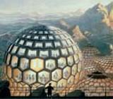 Kugelhäuser im Jahr 2085