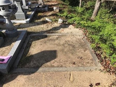 墓地区画あり