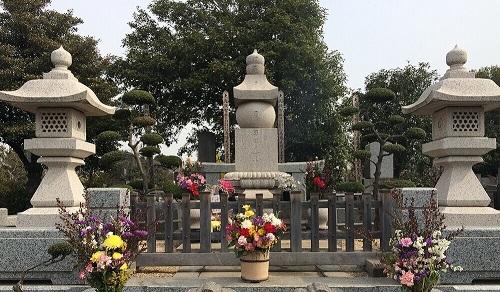 [墓石]:裕次郎墓石