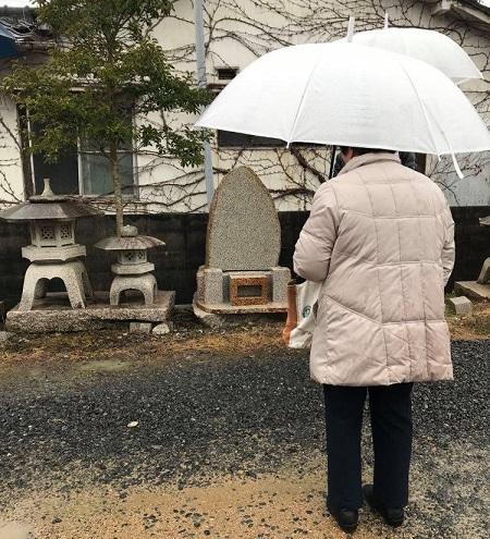展示の自然墓で決定