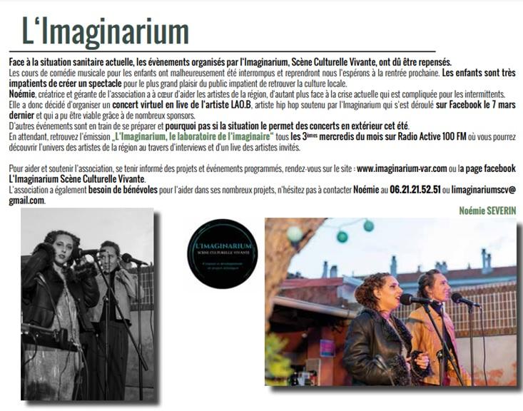 Article Magazine de Pierrefeu