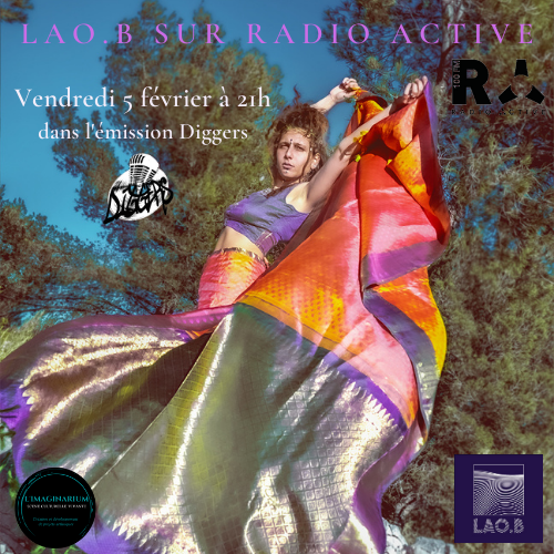 Interview LAO.B 5 février Radio Active - Diggers