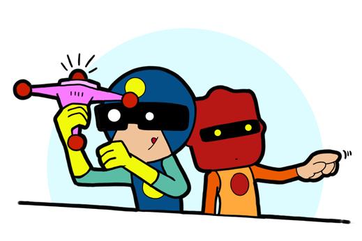 Infra-Bob und Captain Fullstack