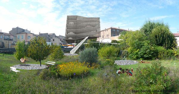 Pour accueillir de nouveaux habitants en centre ville, projet de parking