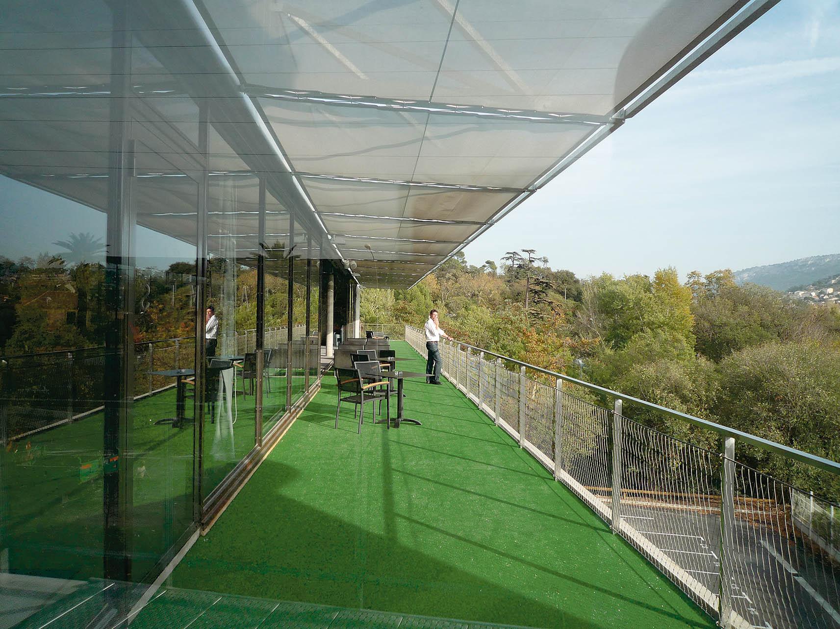 Le BLOK : Terrains de sport - La terrasse haute