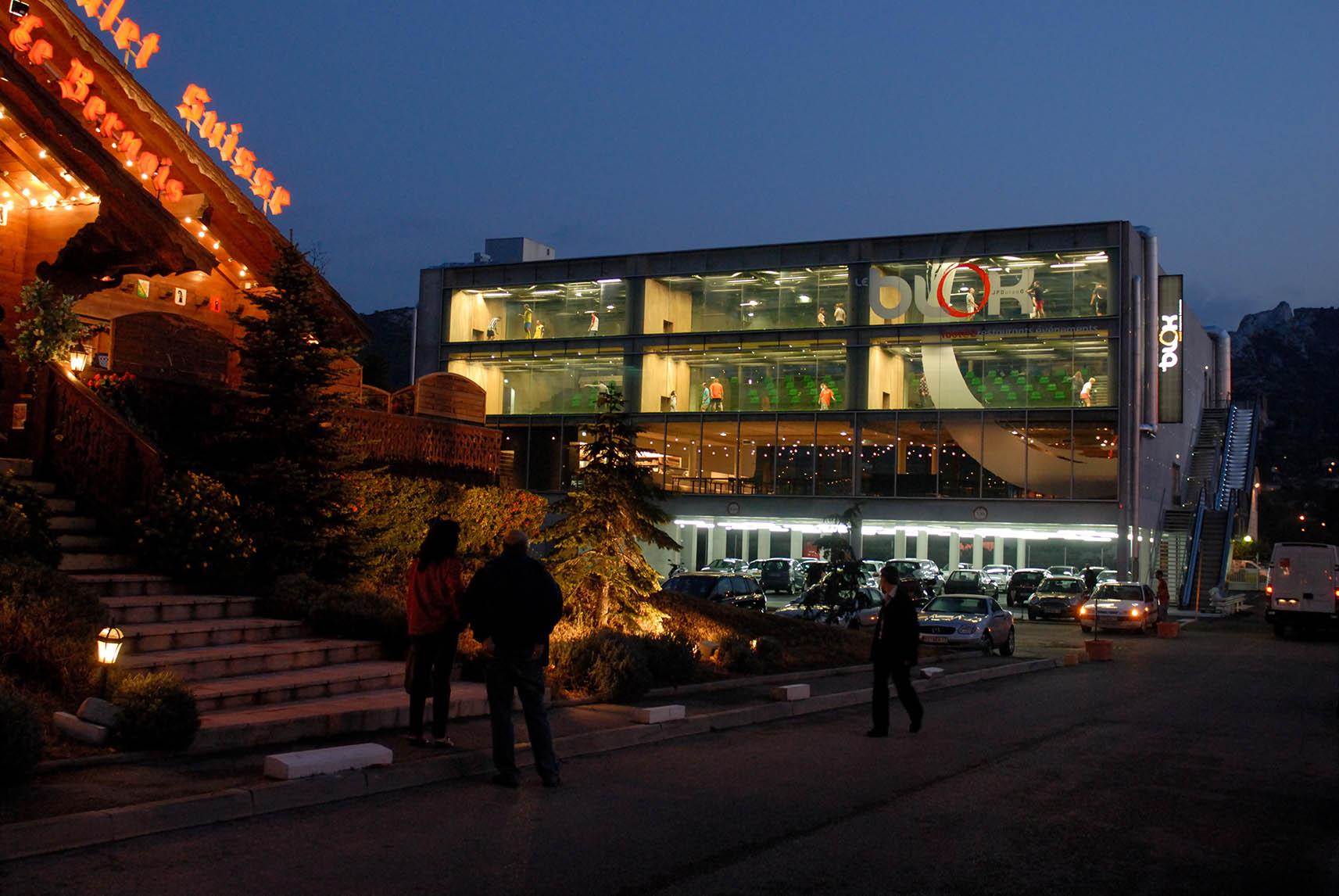 Le BLOK : La façade raconte le programme
