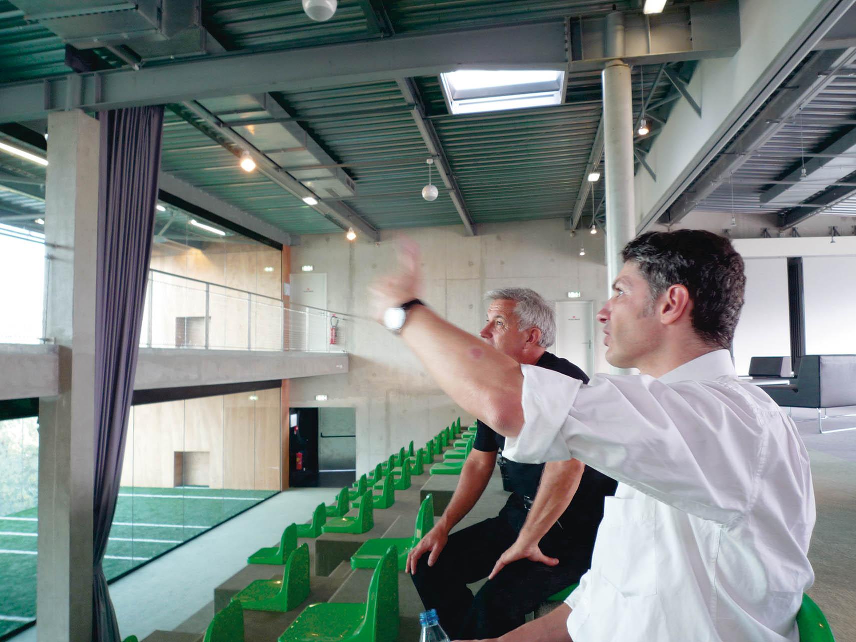 Le BLOK : Terrains de sport - Les gradins