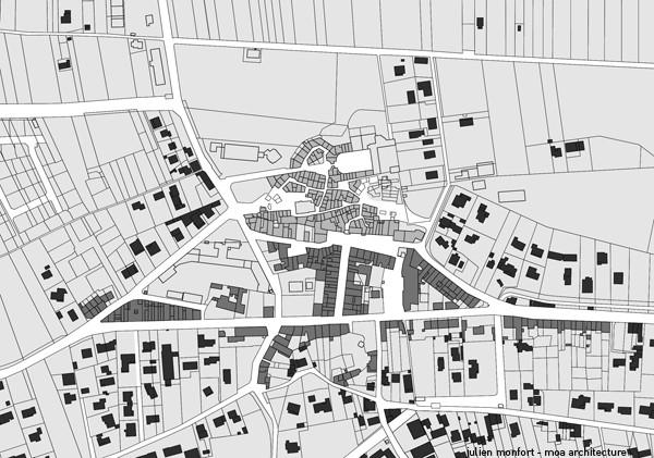 Probleme:désertification du centre ville et étalement de la ville;  Objectif: redynamiser le  centre historique et offrir un parking aux habitants du centre ville