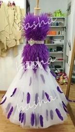 セミオーダー 社交ダンス ドレス