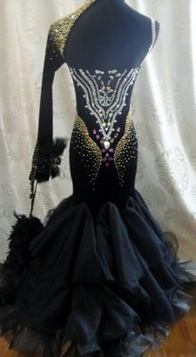 社交ダンス セミオーダードレス