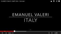 おお!エマニュエル・バレリも講師で参加するダンスキャンプのプロも動画
