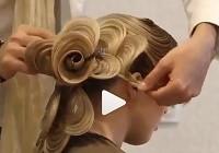 髪を大輪の華にアレンジ!便利なセット方法動画