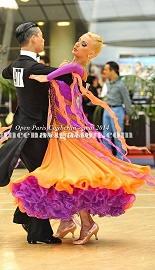 セミオーダードレス 衣装 社交ダンス ドレス