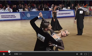 WDSF2014ヨーロピアンチャンピオンシップ・タンゴの動画