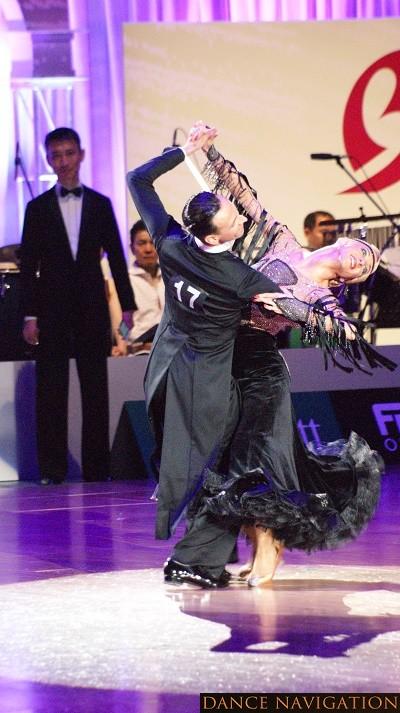 2位 Donatas Vezelis & Lina Chatkevictiute