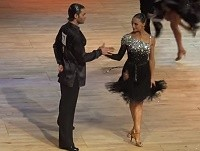 Nino Langella and Anna Melnikova - Samba at Dutch Open 2015