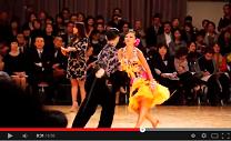 WDCプロラテン日本人カップル最上位はこのカップル(動画)