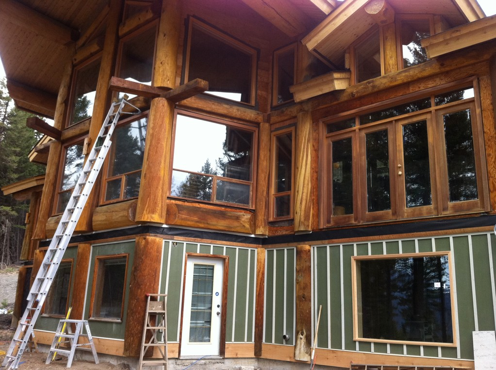 Log Cabin Post Construction Clean 4