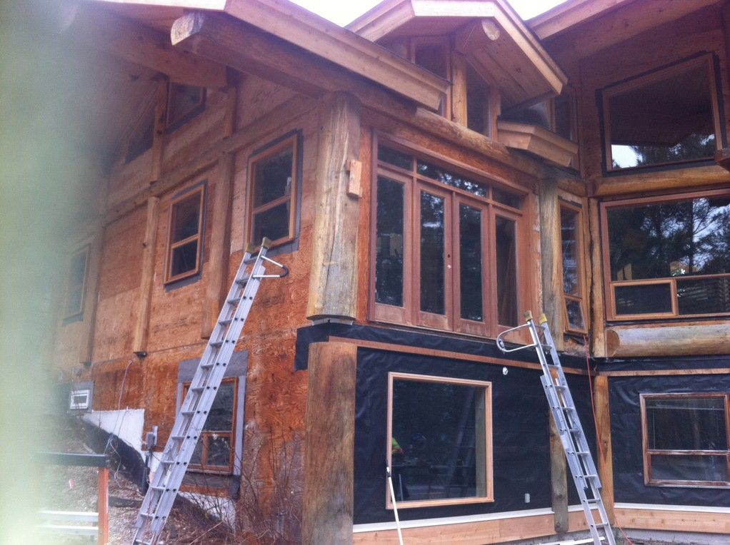 Log Cabin Post Construction Clean 2